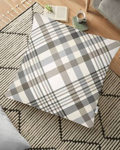 Obliečka na vankúš s prímesou bavlny Minimalist Cushion Covers Checkered, 70 x 70 cm