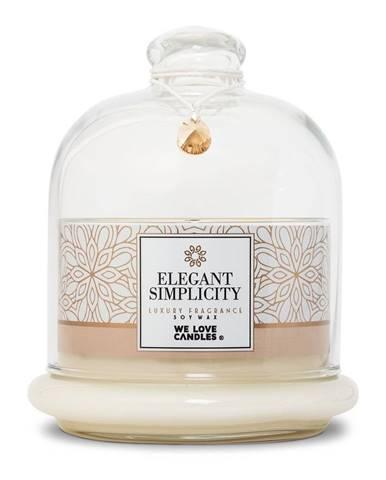 Sviečka zo sójového vosku We Love Candles Elegant Simplicity, doba horenia 72 hodín