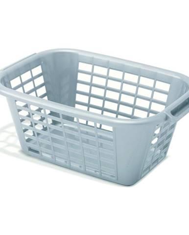 Sivý kôš na bielizeň Addis Rect Laundry Basket, 40 l