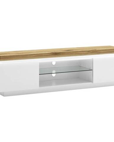 TV stolík RANIA biela/dub