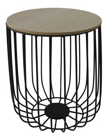 Odkladací stolík FU14 paulovnia, Ø 36 cm