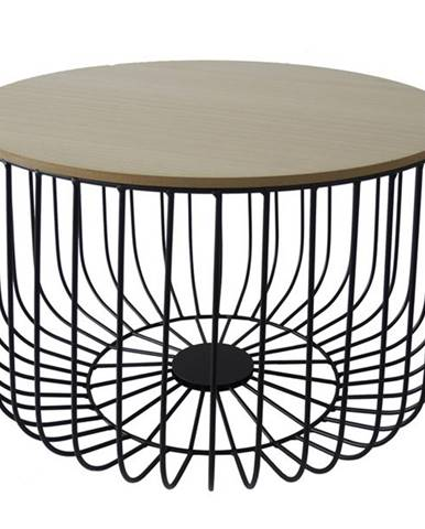 Odkladací stolík FU14 paulovnia, Ø 60 cm