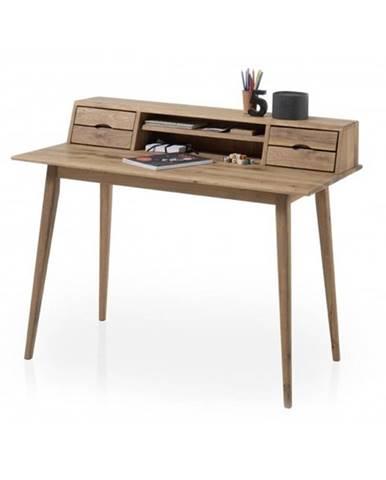 Písací stôl MELBOURNE dub