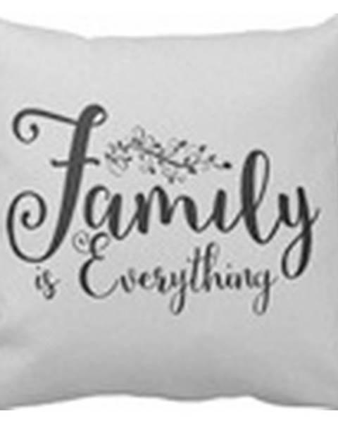 Möbelix Dekoračný Vankúš Family Is Everything, 45/45cm