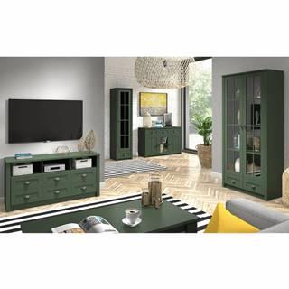 Provance obývacia izba zelená