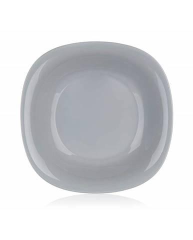 Luminarc Hranatý hlboký tanier CARINE 21 cm, 6 ks, sivá