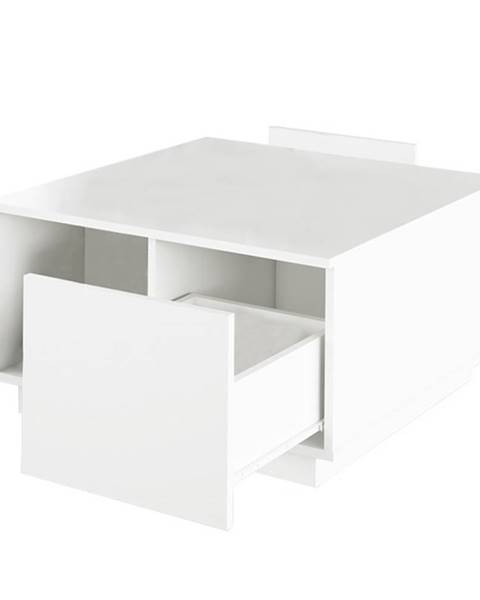 Tempo Kondela Konferenčný stolík biela DALAN
