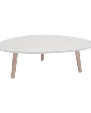 Biely konferenčný stolík z jaseňového dreva Ragaba Contrast Pick