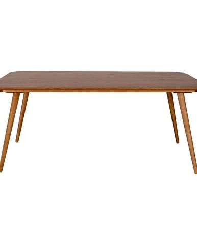 Jedálenský stôl z jaseňového dreva Ragaba Contrast, 180 x 90 cm