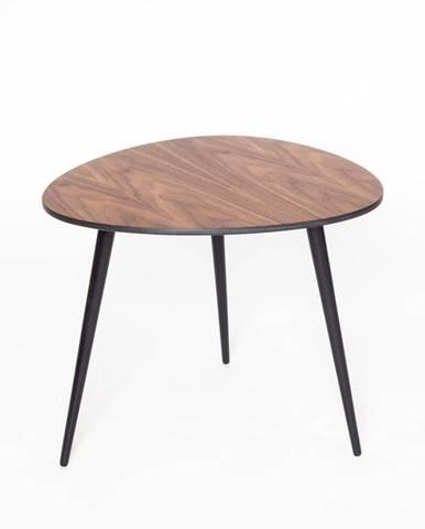 Konferenčný stolík s čiernymi nohami Ragaba Pawi Pick, 55 x 50 cm