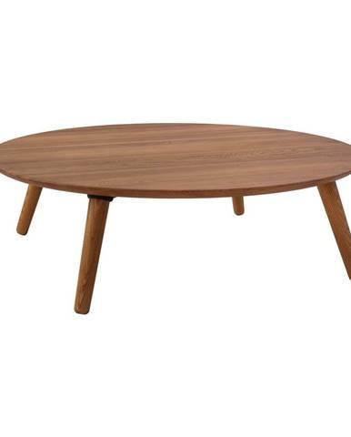 Konferenčný stolík z jaseňového dreva Ragaba Contrast Slice