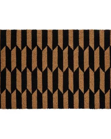 Rohožka z prírodného kokosového vlákna Premier Housewares Arrow, 40 x 60 cm