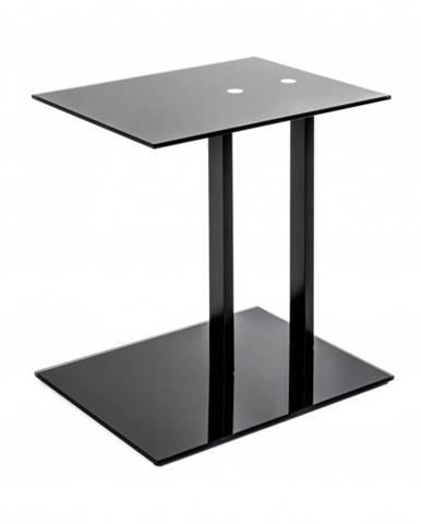 Prístavný stolík ARON čierna