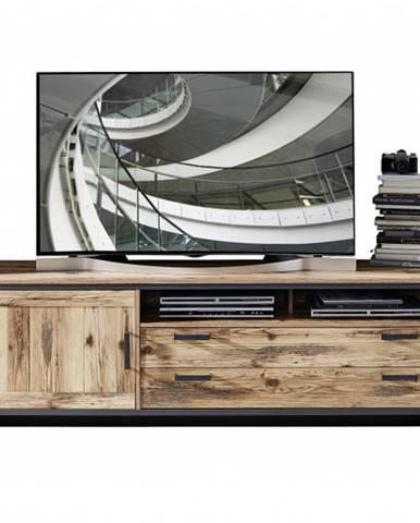 TV komoda PRATO alpine lodge/grafit, šírka 184 cm