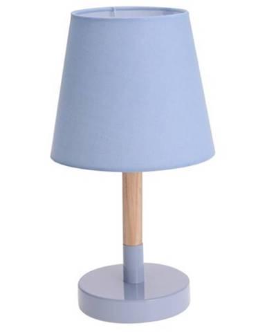 Koopman Stolná lampa Pastel tones modrá, 30,5 cm