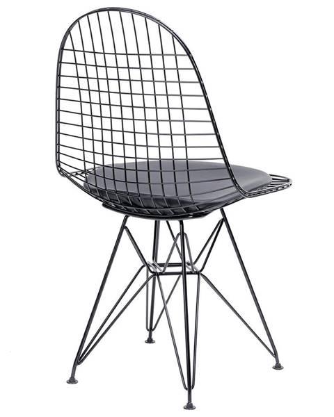ArtKing ArtKing Jedálenská stolička DSR NET BLACK