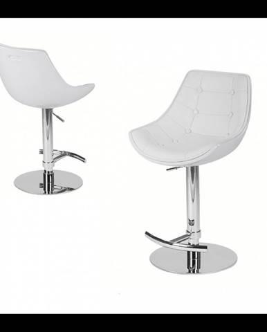 ArtKing Barová stolička Passion Eko biela