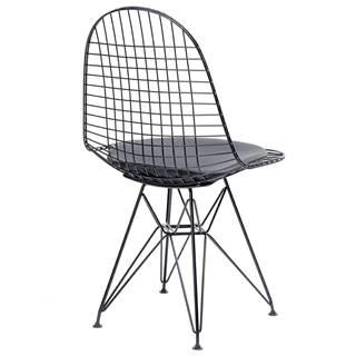 ArtKing Jedálenská stolička DSR NET BLACK
