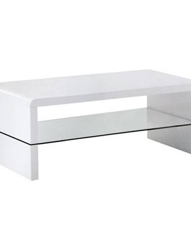 Konferenčný stolík biela extra vysoký lesk HG HAGY