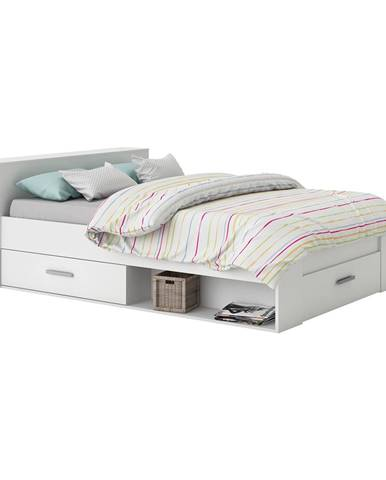 Multifunkčná posteľ 160x200 POCKET biela