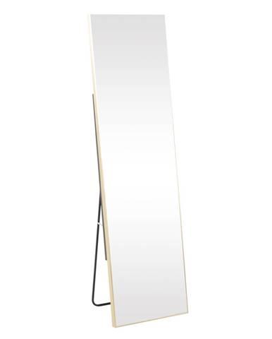 Stojanové zrkadlo zlatá LUSET