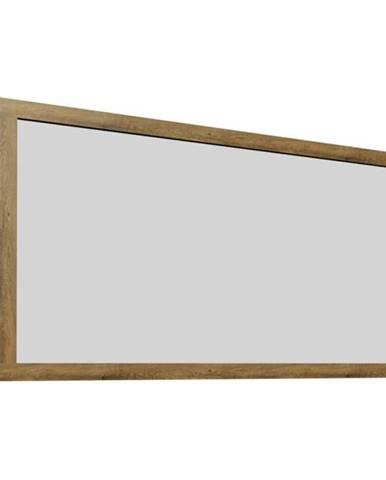 Zrkadlo dub lefkas tmavý MONTANA LS rozbalený tovar
