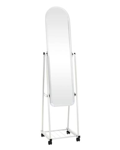 Zrkadlo na kolieskach biela DUMAS