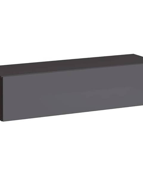 MERKURY MARKET TV stolík Závesny Switch SW2 Grafit
