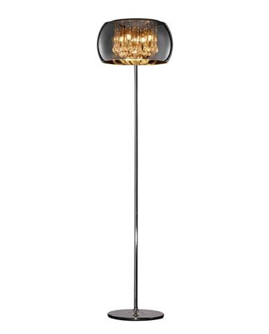 STOJACIA LAMPA, 40/158 cm - chrómová