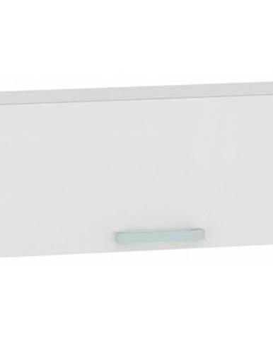 Horná kuchynská skrinka One EH90HK, biely lesk, šírka 90 cm%