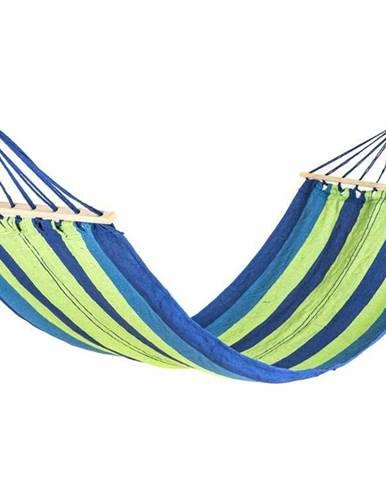 Happy Green Závesné hojdacie ležadlo 200 x 80 cm, modrá