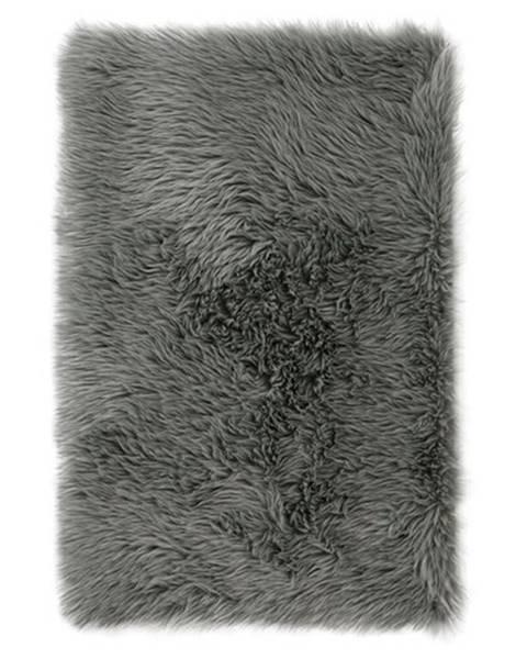 4Home AmeliaHome Kožušina Dokka tmavosivá, 50 x 150 cm