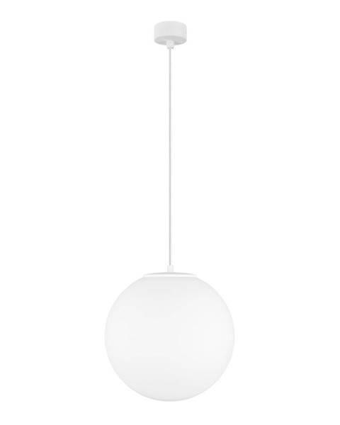 Sotto Luce Matne biele závesné svietidlo Sotto Luce Tsuki, ⌀ 30 cm