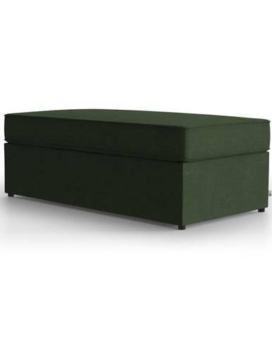 Zelená polstrovaná rozkladacia lavica My Pop Design Brady, 130 cm