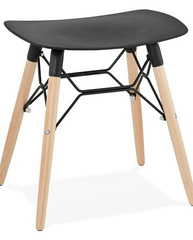 Čierna stolička Kokoon Jartel
