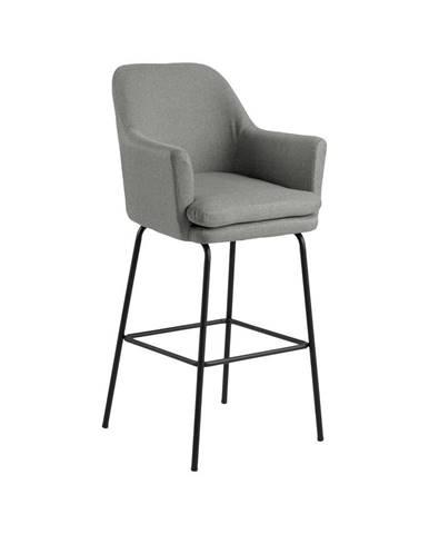 Sivá barová stolička Actona Chisa