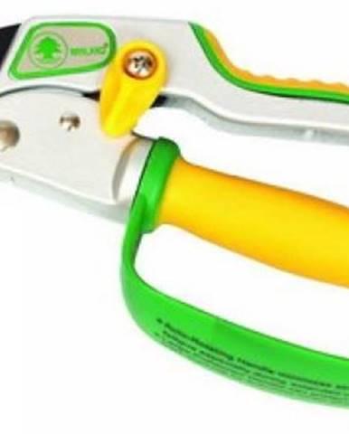 Nožnice záhradné otočná rukoväť s chráničom WINLAND čepeľ japon. oceľ SK5