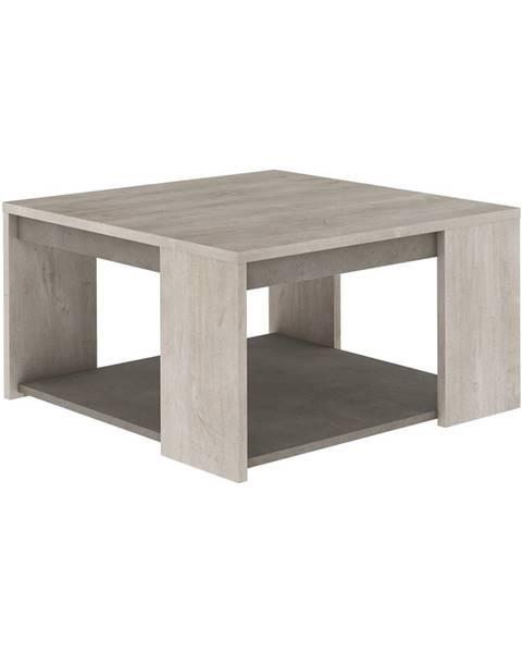 IDEA Nábytok Konferenčný stolík ANTIBES dub/béžový betón