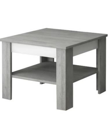 Konferenčný stolík VOTO 1 betón/biela