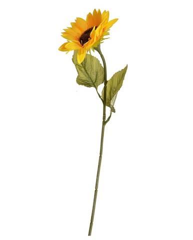 Umelá kvetina Slnečninca žltá, 68 cmq