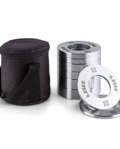 Capital Sports Crumb Set Fractional Plates, 0,25 - 1kg, 4 páry závaží, chróm