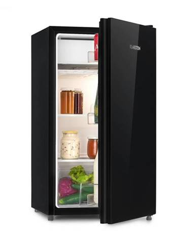 Klarstein Luminance Frost, chladnička, 91 l, A+, chladiaci priečinok na zeleninu, 2 sklenené police, čierna