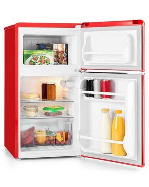 Klarstein Klarstein Monroe Red kombinovaná chladnička s mrazničkou 61/24 l A+ Retrolook červená