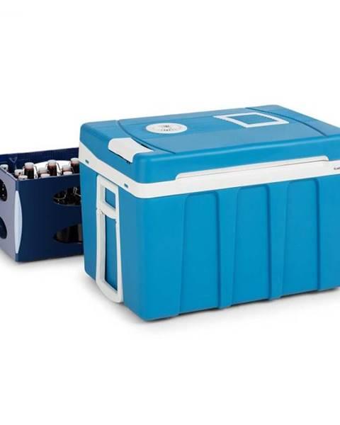 Klarstein Klarstein BeerPacker, termoelektrický chladiaci box s funkciou udržania tepla, 50 l, A+++, AC/DC, vozík, modrý