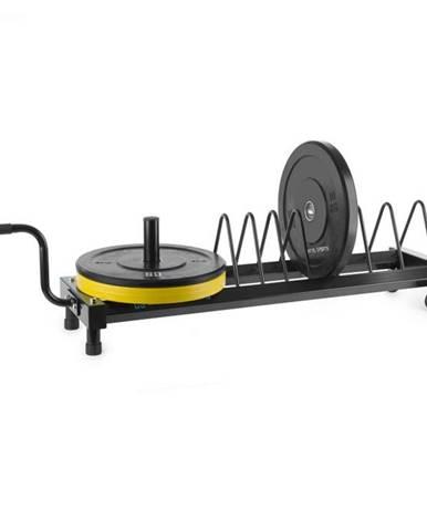 Capital Sports Plarak, stojan na kotúčové závažia, transportné kolieska, 500 kg max.