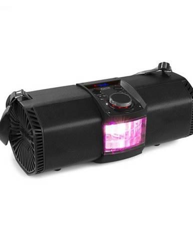 """Fenton MDJ150, párty stanica, 200 W, 2 x 5,25"""" reproduktor, akumulátor, diaľkový ovládač, čierna"""