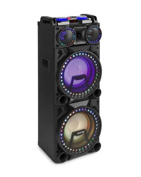 """Fenton Fenton VS210, aktívny párty box, 1600 W, 2x10"""" sub, BT, USB, SD, LED"""