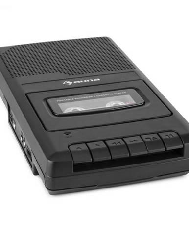 Auna RQ-132, kazetový magnetofón, diktafón, kazety, rekordér, mikrofón