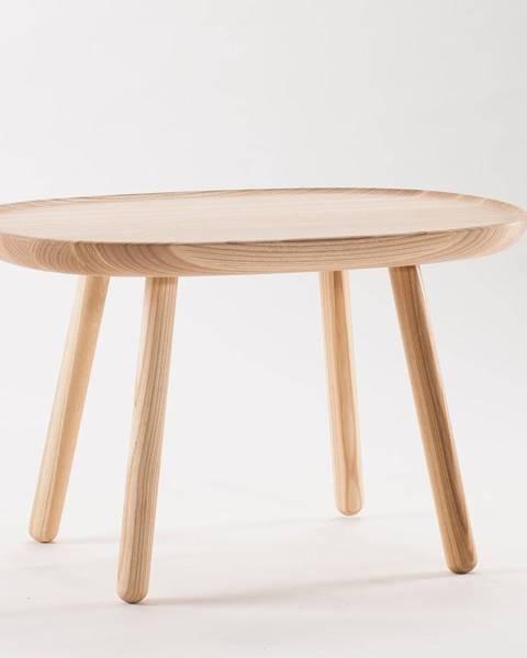 EMKO Prírodný stolík z masívu EMKO Naïve, 61 x 41 cm