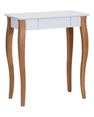 Biely písací stôl Ragaba Lillo,dĺžka65cm